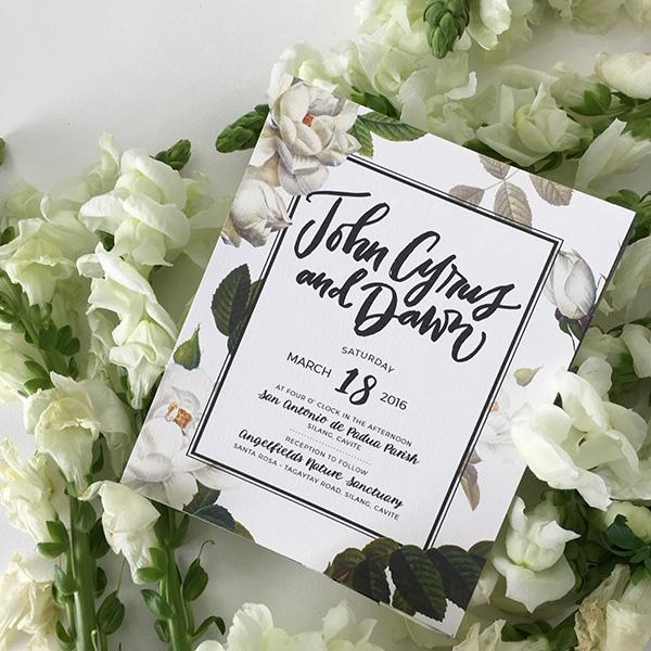 Parts Of A Wedding Invitation Philippines Wedding Blog