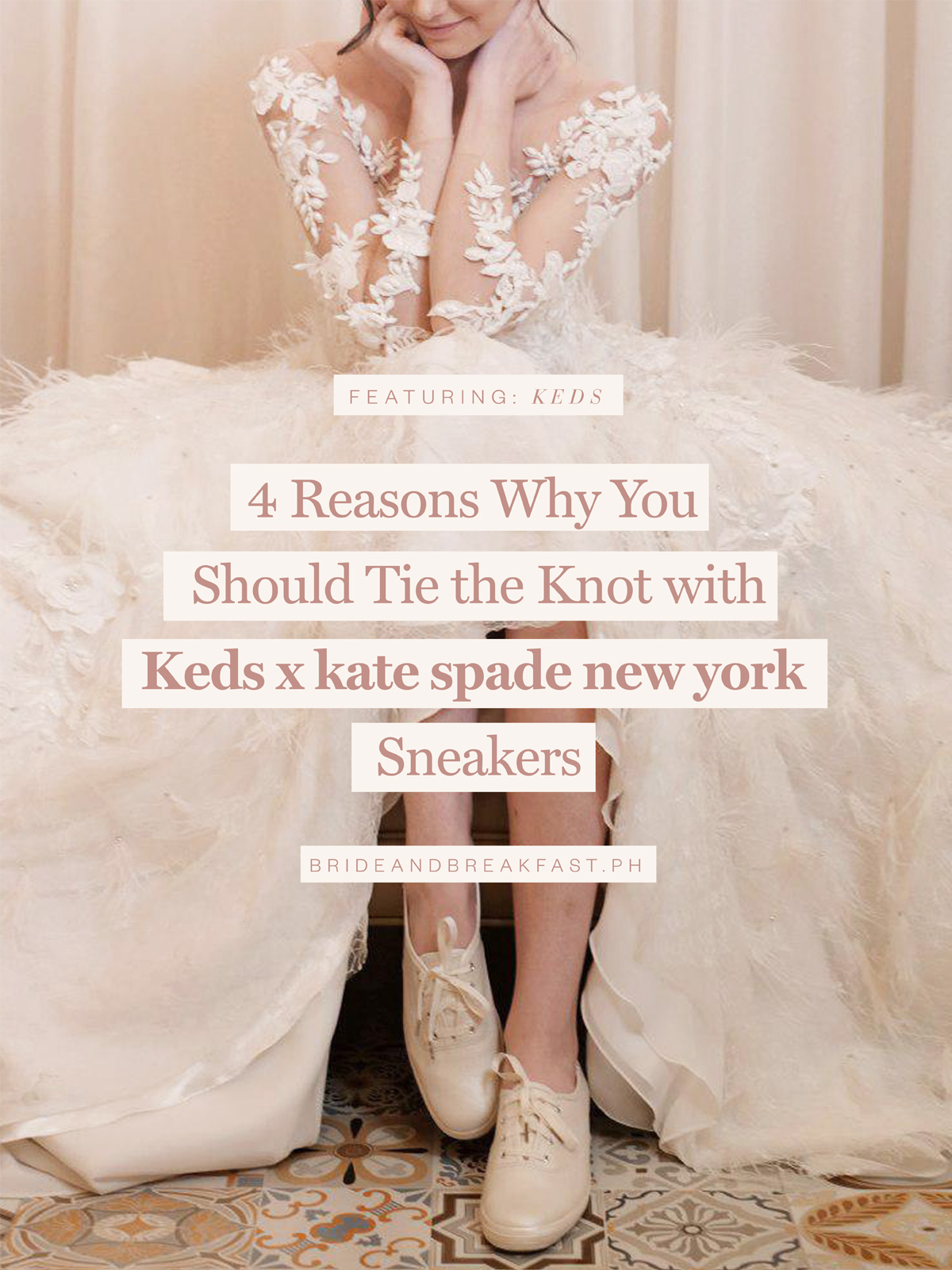 4 Reasons Why You Should Tie the Knot with Kids x Kate spade New York Sneakers