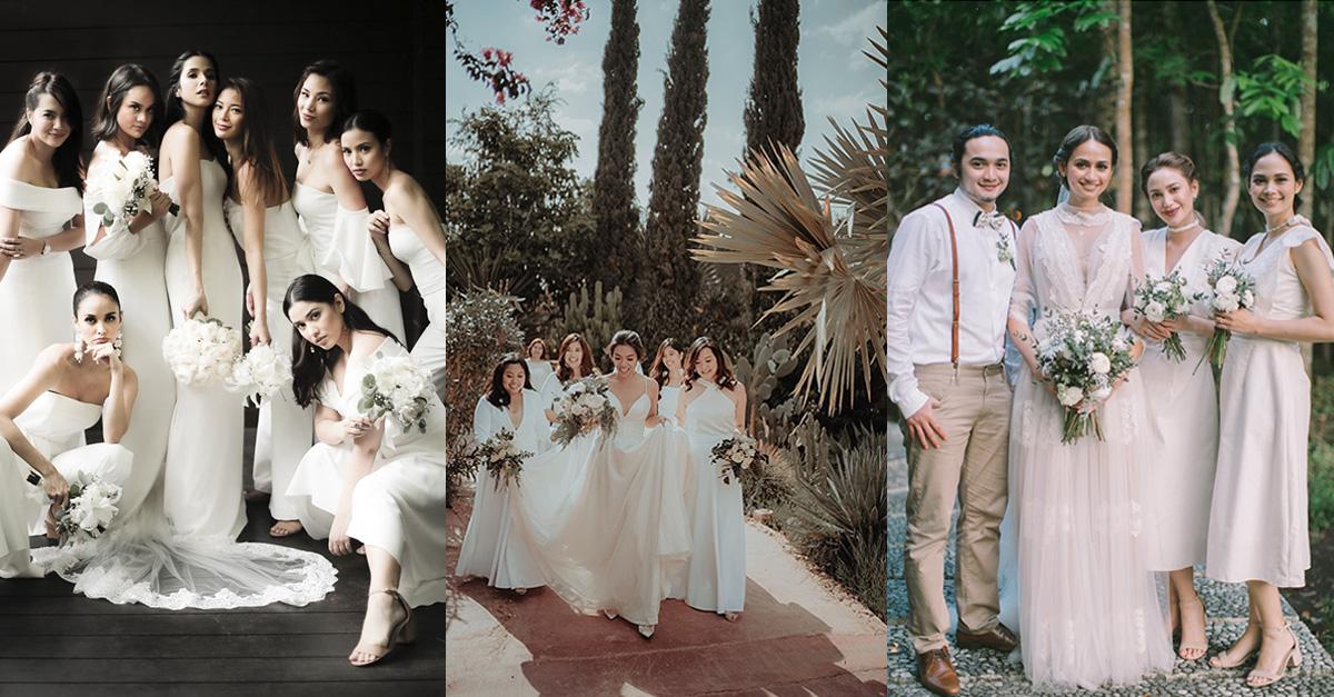 10 Beautiful White Weddings Philippines Wedding Blog,Fifty Plus Dresses For Weddings