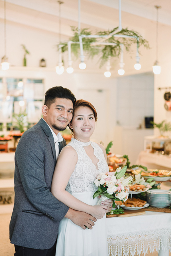 Civil Wedding In A Restaurant Philippines Wedding Blog