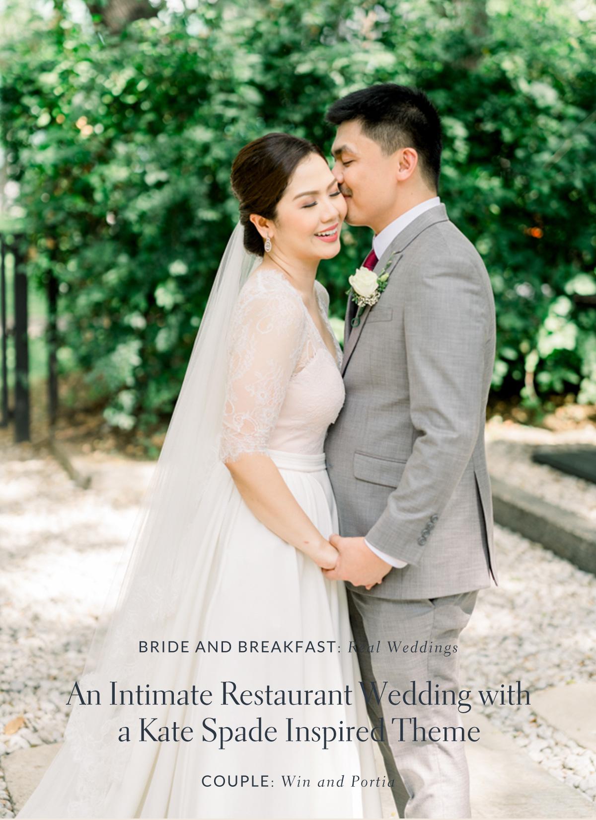 A Fun Kate Spade Themed Wedding Philippines Wedding Blog