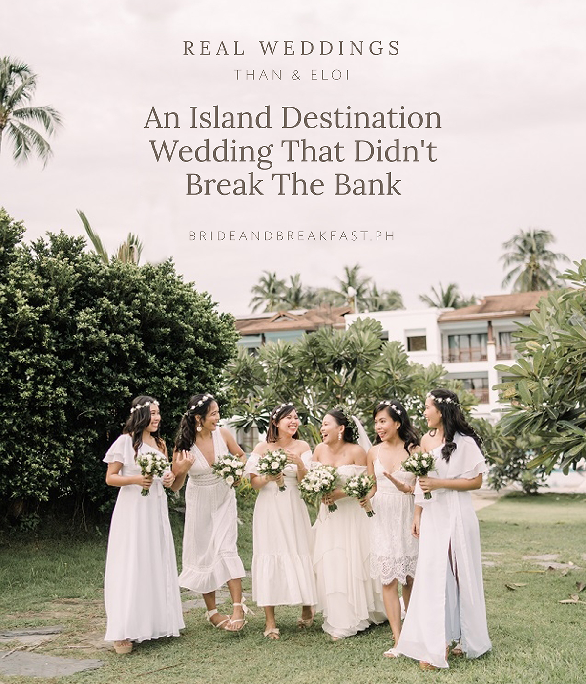 An Island Destination Wedding That Didn't Break The Bank
