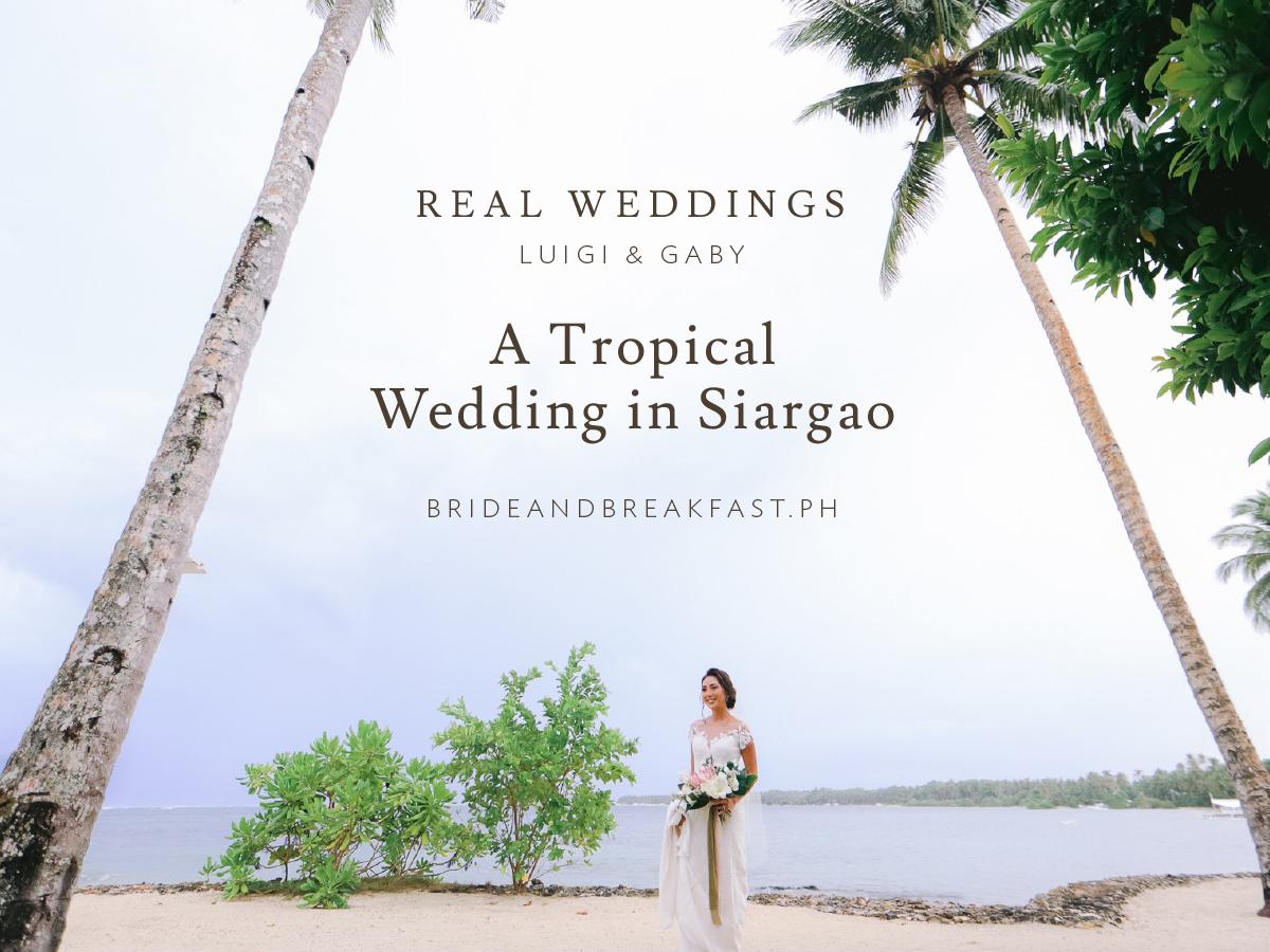 A Tropical Wedding in Siargao